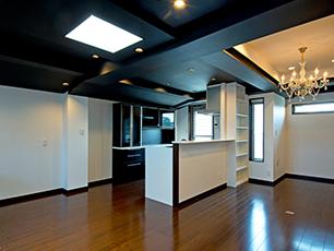 空間を楽しむ家